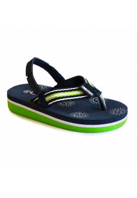 Jongens slipper - Borgo - green