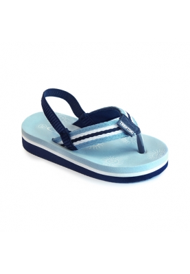 Slipper Samo - light blue