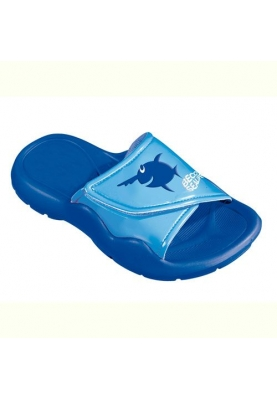 BECO Sealife slipper - blauw