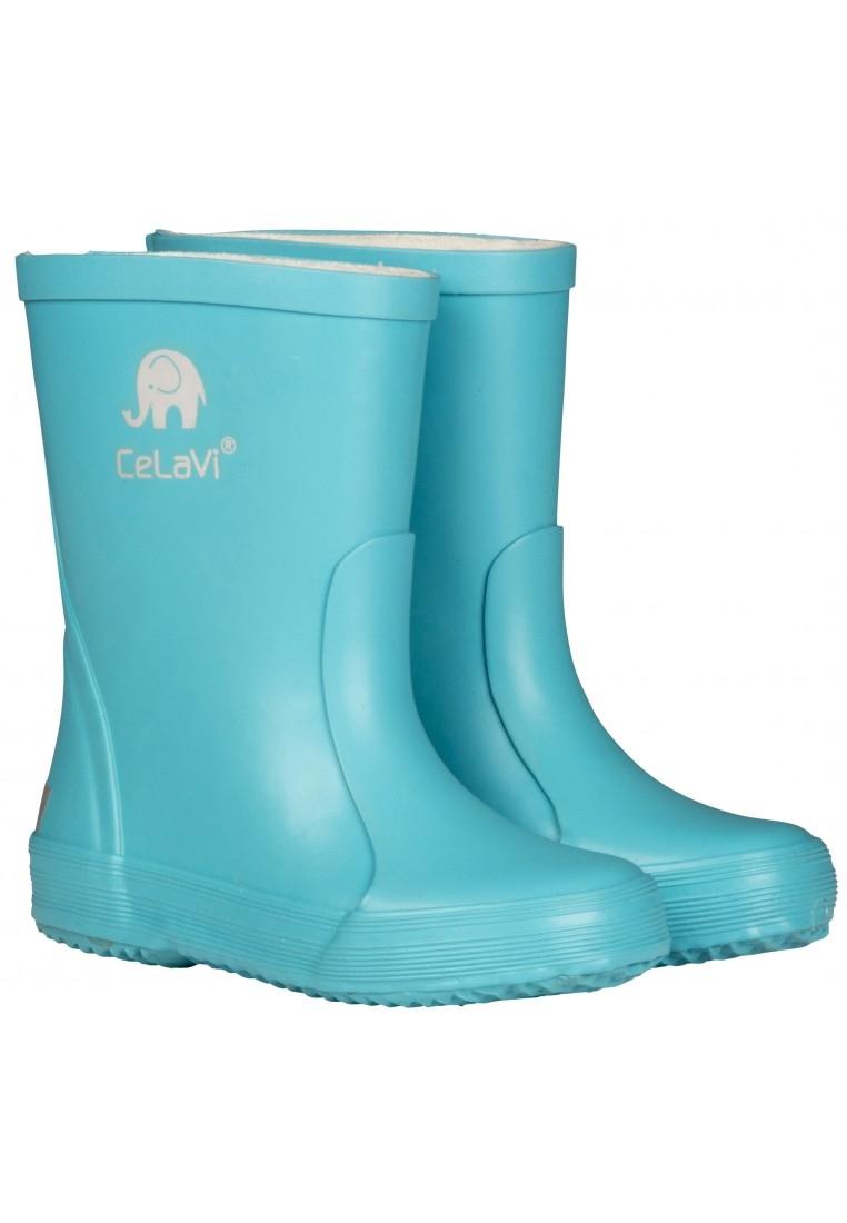 Hippe lichtblauwe Kinderregenlaarzen van CeLaVi (Maat 34 ...
